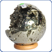 Balls from Pyrite