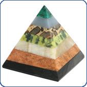 Pyramids and obelisks