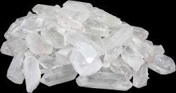 Waterstones Rock Crystal points nature