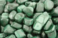 Malachite Tumbled Stones Congo