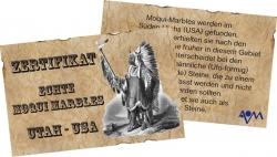Certificate Moqui Marbles