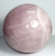 Ball (Sphere) Rose Quartz No. 26
