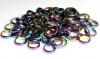Hematite Rings 6 mm RAINBOW