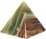 Pyramid 7.5 cm, Onyx-Marble