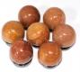 Balls (Spheres) Aventurine red 30 mm B-Quality