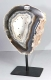 Agate Slice on metal stand No. ACM19