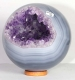 Ball (Sphere) Amethyste with CalcedonyNo. 42