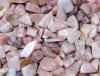 Pink Opal Tumbled Stones Chips B-quality
