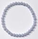 Bracelet ball Chalcedony 5 mm