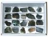 Box Labradorite pieces polished, 20 pieces