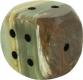 Dices 1.5 cm, Onyx-Marble