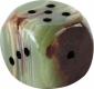 Dice 2.5 cm, Onyx Marble
