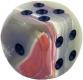 Dice 3.7 cm, Onyx Marble