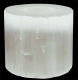 Selenite Tea Light approx. 8 cm