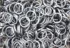 Hämatit-Ringe (Hämatin) flach 3 mm