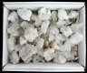 Box Rock Crystal groups 30-70g, AB quality