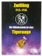 Sternzeichenkarten mit Trommelstein-Anhänger