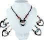 Hematine Necklaces, 5 different stones