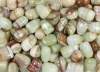 Aragonite green Tumbled Stones Pakistan