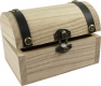 Wooden Treasure Box without print, empty