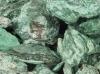 Fuchsite rough pieces, 3-5 cm