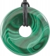 Donut approx. 40 mm Malachite