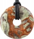 Donut 30 mm Flower-Rhyolite