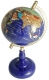Lapis Globe, 150 mm