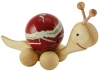 Rolling wooden Snail for 20 mm balls (spheres)