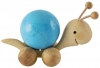Rolling wooden Snail for 30 mm balls (spheres)