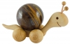 Rolling wooden Snail for 40 mm balls (spheres)