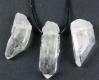 Pendant Rock crystal 2-5 cm