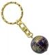 Schlüsselanhänger Lapis Globus 19 mm