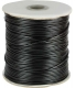 Wax cord 1.5 mm black 180 m
