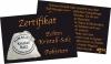 Zertifikat Kristall-Salz