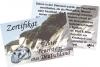 Zertifikat Feuerstein (Flint)