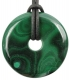 Donut approx. 35 mm Malachite