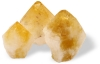 Citrine Points with base