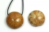 Pendant Sea Urchin, polished