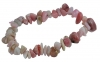 Splitterarmband Andenopal rosa