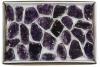 Box Amethyst A-quality, 24-35 pieces