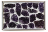 Box Amethyst A-quality, 15-25 pieces