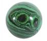 Ball (Sphere) 30 mm Malachite-Imitation