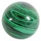 Ball (Sphere) 40 mm Malachite-Imitation