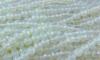 Strang Opalglas Kugel 6 mm facettiert