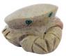 Krabbe 3 cm Speckstein