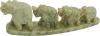 Elephants, 4 in a row, 14 cm