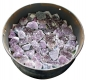 Drum with Amethyst pieces 70-250g, B-quality