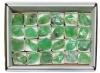 Calcit grün (Smaragdcalcit), 24 Stück