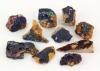 Azurite, Morocco ø 2-3 cm